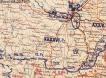 Generalstabskort 18. Pz Division, Feb. 1943